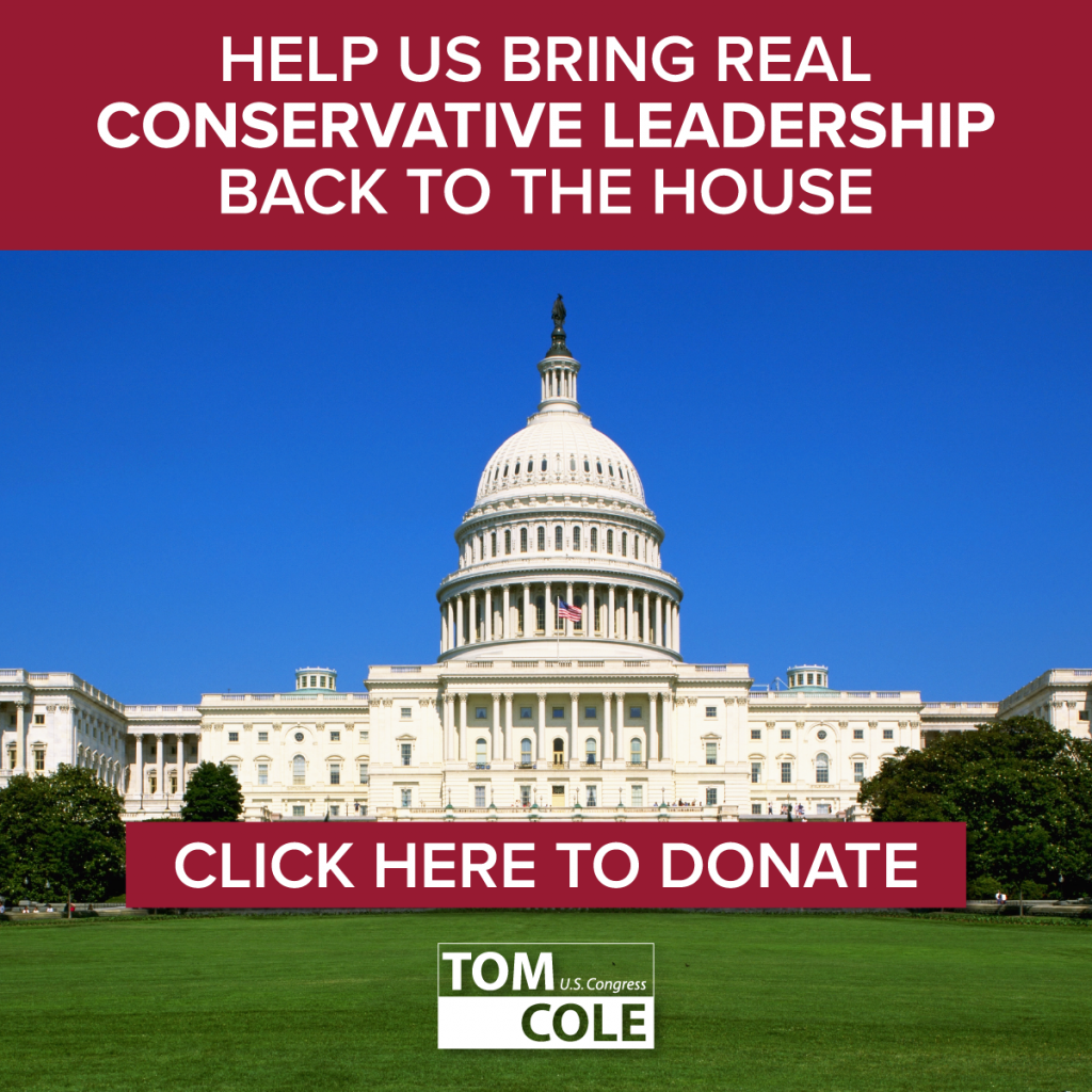 Help us bring real conservative leadership back to the house